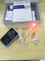 Low level semiconductor laser treatment laser therapy device LLLT for tinnitus otitis media nasal issues