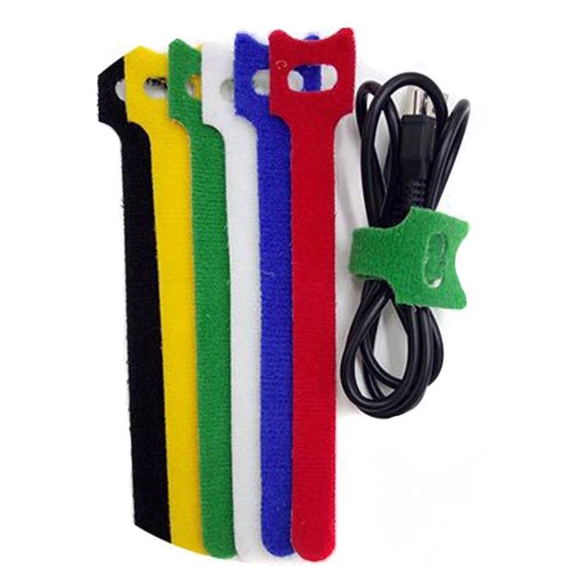 30pcs flexable tape klittenband range chaussure magique. Black Bedroom Furniture Sets. Home Design Ideas