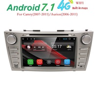 8 Inch Android 5 1 1 Car DVD Player GPS Navigation System For Toyota Camry 2007