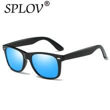2017 Moda gafas de Sol de Los Hombres Vidrios Polarizados Hombres Espejos Puntos de Conducción Revestimiento Montura de las Gafas de Sol Gafas de sol Masculinas Vidrios Del Partido