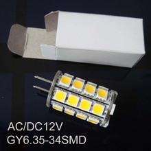 High quality AC DC12V GY6 35 led light GY6 35 lamp led 12v led G6 bulb