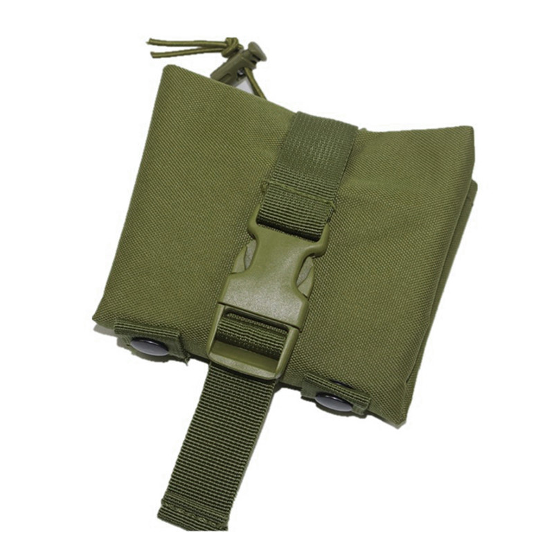 Hunting Magazine Recovery Dump Pouch Gear Compact Military Airsoft Molle Tactical Magazine Drop Hunting Pouches airsoftpeak military molle edc pouch mesh tools accessory pouches tactical waist hunting bags outdoor flashlight magazine pocket
