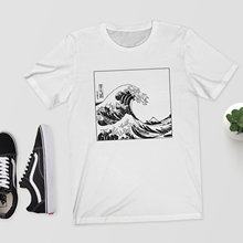 The Great Wave Off Kanagawa Womens Tshirt Japanese Sketch Smiple Graphic Shirt Girls Cute Tee 2019 Summer Tumblr Trending Tops