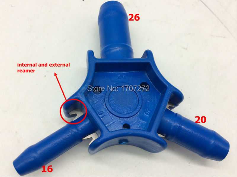 Free Shipping The Plumber Tools  Hole Reamer 16mm/ 20mm/ 26mm  PEX-al-PEX  Calibrator For Plumbing Pipe In China, Pipe Fitting