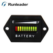 LED 48 В свинцово-кислотная хранения заряда батареи индикатор разряда для Гольф тележки вилочный погрузчик трактор chipper газонокосилка автомобиля