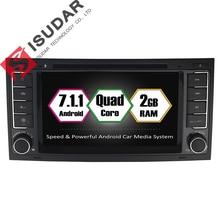 Android 7.1.1 Zwei Din 7 Zoll Auto-DVD-Spieler Für VW/Volkswagen/Touareg/Transporter T5 RAM 2G WIFI GPS Navigation Radio FM