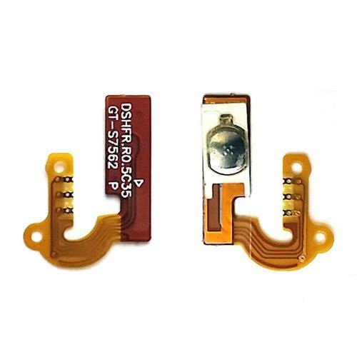 For Samsung Galaxy S Duos S7562  Power Button Flex Cable Ribbon Replacement