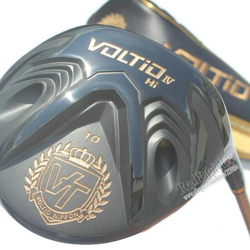 Cooyute Nouveau mens Golf Clubs KATANA VOLTIO SALUT IV pilote clubs 9 ou 10 loft Conducteur De Golf avec Graphite De Golf arbre livraison gratuite