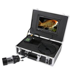 Image 3 - 9 Inch DVR Recorder Underwater Fishing Video Camera Fish Finder IP68 Waterproof 38 LEDs 360 Degree Rotating Camera 50M 100M