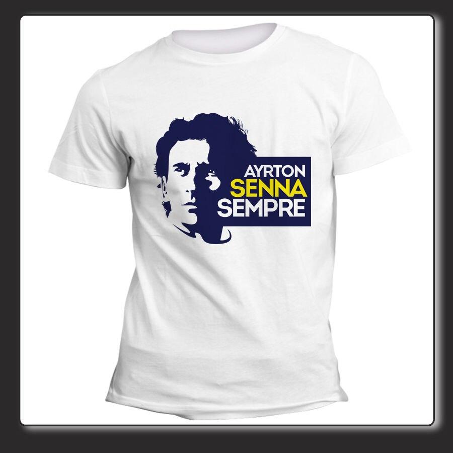 T Shirt Uomo Donna Ayrton Senna Formula Uno Art. 01