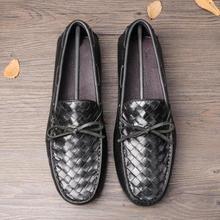 Мужская обувь на плоской подошве; Лоферы без шнуровки из натуральной кожи; большие размеры 38-45; мужские оксфорды из воловьей кожи с кисточками; обувь для вождения; мужская повседневная обувь