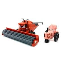 Дисней Pixar машинки Франк и трактор литая под давлением игрушечная машинка для детей Подарки 1:55 Свободный сплав литая под давлением модель Абсолютно Новая и