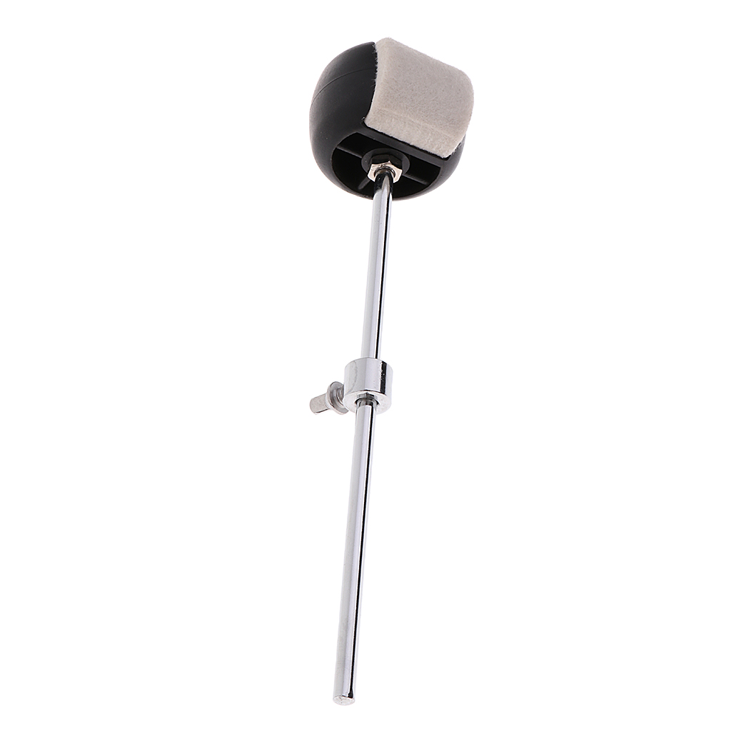 MagiDeal Double Bass Kick Drum Pedal Link Linkage Connecting Bar Driveshaft Rod