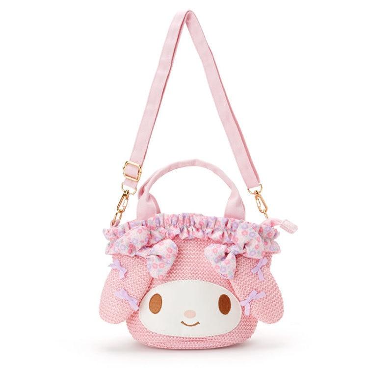 NEW My Melody Lolita Anime Handbag Casual Shoulder Bag Holiday Gift Purse Wallet