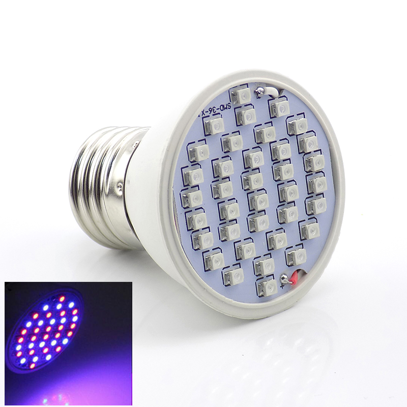 36 Led Grow light bulbs Hydroponics System seeding lights indoor Greenhouse Red Blue for Plant Growing Bulbs flower lighting