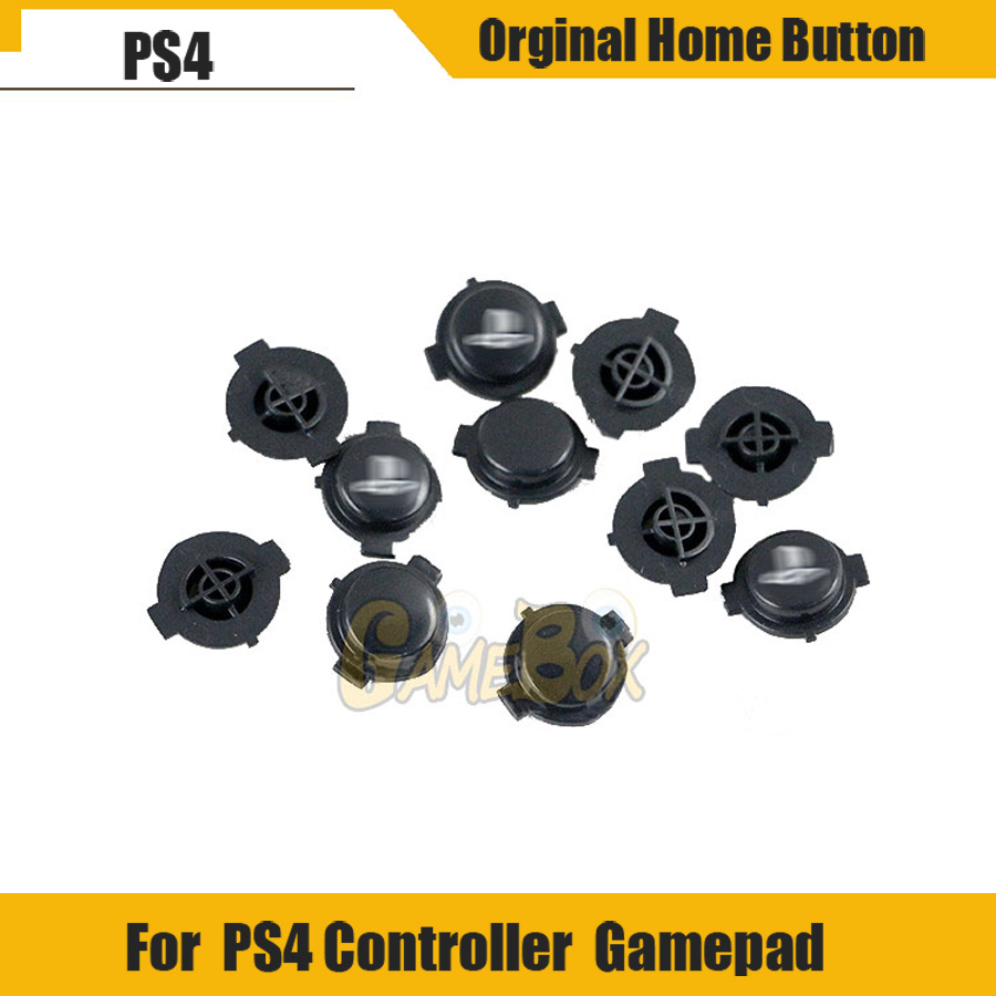 Orginal Home Button For Playstation 4 Controller PS4 Accessories Home Button For PS4 Return Key With Logo
