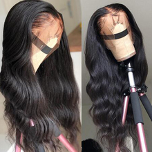 13x4 Lace Front Human Hair Wigs Pre Plucked Hairline Remy Hair Brazilian Body Wave Lace Front Wig With Baby Hair недорго, оригинальная цена