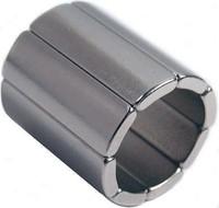 NdFeB Magnet Arc OR 18mm X IR14mm X T20mm X 45deg N45H Motor Magnet For Generators