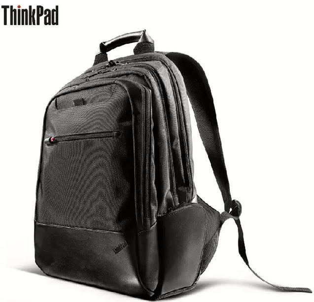 Prix pour D'origine Lenovo ThinkPad sac à dos 14 pouce 15.6 pouce Sac D'ordinateur Portable 43R2482 Énorme Capacité Velours Manches Voyage Ordinateur Portable Sac À Dos