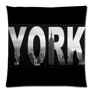 LU New I Love NY New York City View 45X45 CM Soft Pillowcase pillow case
