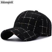 XdanqinX Snapback Cap Cotton Baseball Caps For Men And Women Adjustable Size High Quality Brand Hat Women's Ponytail Hats Unisex
