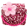 SCYL Girls Princess Tote flower Messenger Shoulder Bag Wallet, Rose Leopard