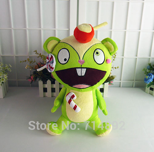 Happy Tree Friends anime plush dolls HTF Nutty plush toys 38cm soft pillow high quality for gift free shipping | Dolls & Stuffed Toys