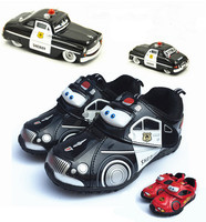 Baby Boy Carton Shoes 2016 New Fashion Spring Autumn Children Car Sports Shoes For Kids Boys