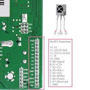 Image 3 - 3663 New Digital Signal DVB C DVB T2 DVB T Universal LCD TV Controller Driver Board UPGRADE 3463A Russian USB play LUA63A82
