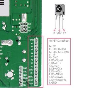 Image 3 - 3663 yeni dijital sinyal DVB C DVB T2 DVB T evrensel LCD TV denetleyici sürücü panosu yükseltme 3463A rus USB oyun LUA63A82