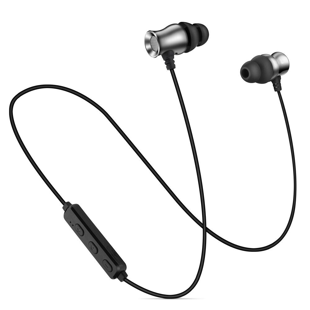 bilder für IPUDIS Bluetooth Kopfhörer Haken Ohrbügel Sport Metall Headset Drahtlose Ohrhörer Magnet Kopfhörer mit MIC