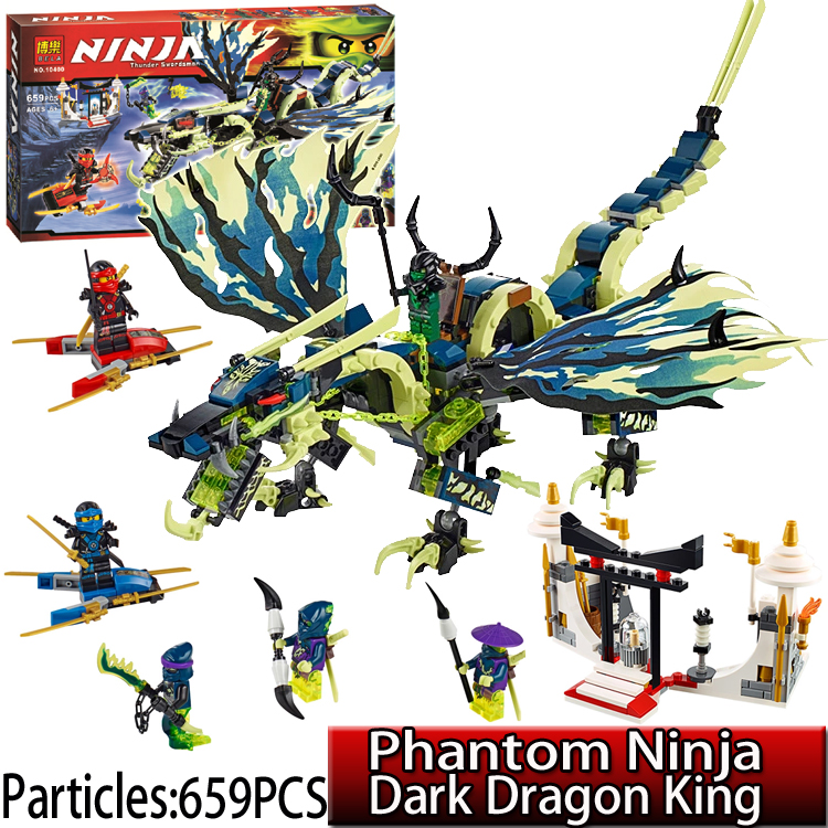 ФОТО 658pcs 70736 Phantom Ninjagoes Morro Dragon models & building toys Compatible Future Knights figures blocks Toys for Children