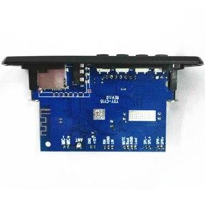 Image 5 - Tenghong MP3 מפענח לוח שני ערוץ מגבר אלחוטי Bluetooth 4.2 FM 10W + 10W 12V Lossless רכב רמקול APP אודיו מקלט