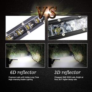 Image 5 - Đồng 30W 60W 90W 120W 150W Offroad LED Bar 6D Combo Công Việc Nhẹ 12V 24V Cho Lái Xe Thuyền Xe Tải Xe Tải 4X4 SUV ATV Đèn Sương Mù