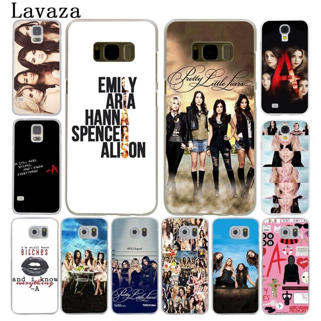 online retailer 1c447 78296 US $1.99 22% OFF|Lavaza Pretty Little Liars Lucy Hale Hard Style Phone  Shell Case for Samsung Galaxy S7 S6 Edge S8 S9 S10 Plus S10E Cover-in ...