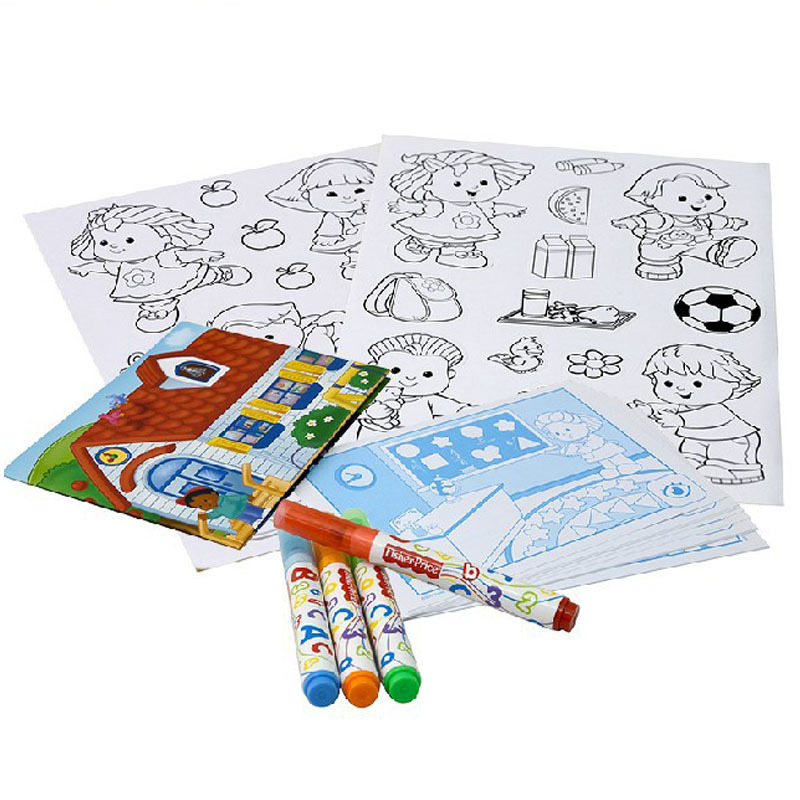 Art Educational Toys : Sticker educational toys children s painting sets