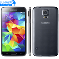"Original Unlocked Samsung Galaxy S5 i9600 Mobile Phone 5.1"" Super AMOLED Quad Core 16GB ROM NFC Refurbished Smartphone"
