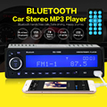 НОВЫЙ 12 В Bluetooth Car Радио Стерео FM MP3 Аудио USB SD AUX Авто Электроника авторадио 1 DIN ото teypleri радио пункт карро