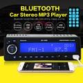 NUEVA 12 V Del Coche de Bluetooth Reproductor de Radio Estéreo FM MP3 de Audio USB SD AUX Auto Electrónica radio autoradio 1 DIN oto teypleri párr carro