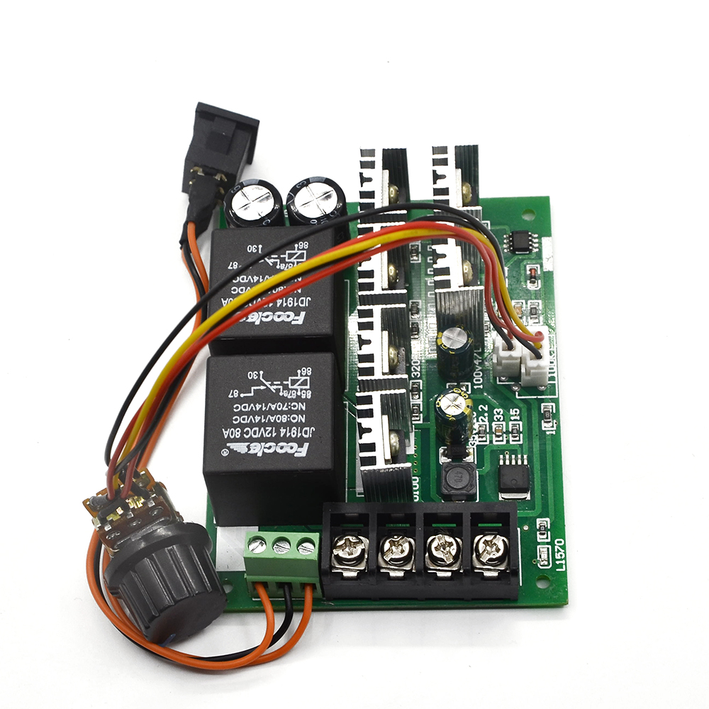 Dc Speed Motor Controller Forward Reverse 10 50v 40a 60a For And Circuit Brush Reversing Control 0 100