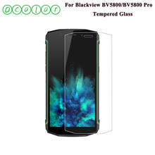 ocolor For Blackview BV5800 Tempered Glass 5.5'' Screen Protector Shatter Proof 9H Replacement For Blackview BV5800 Pro Film(China)