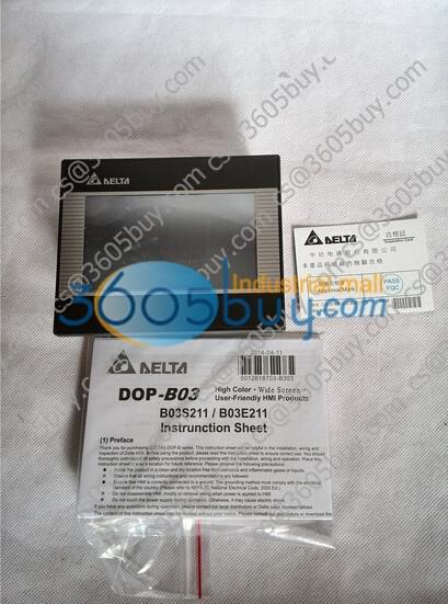 New Original Delta HMI Touch Screen DOP-B03S211 1 year warranty