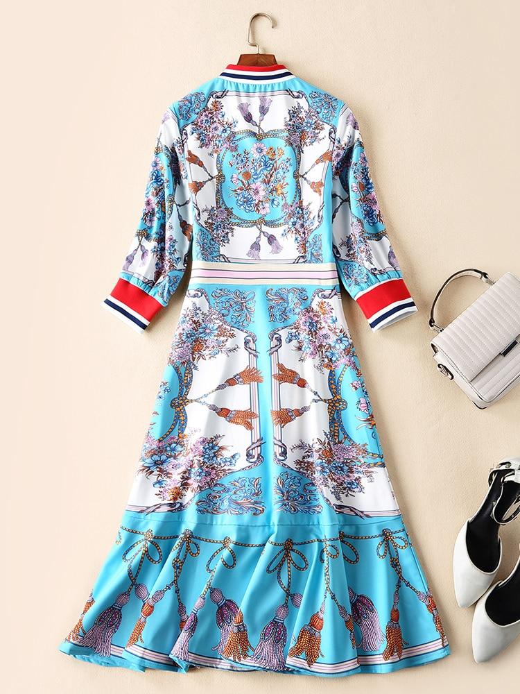 Mode Design Printemps De 2019 Robe Femmes Nouvelle Européenne Ps01777 Qualité Partie Luxe Style Supérieure A4jc3L5Rq