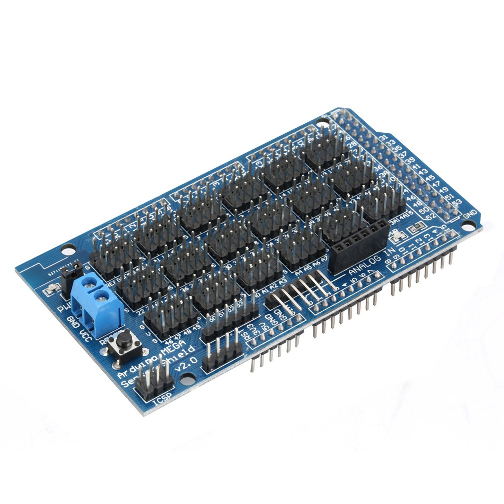 MEGA Sensor Module Shield V1.0 For Arduino Sensor Expansion Board Interface Dedicated Extansion Blocks Electronic DIY Tool