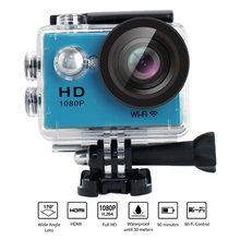 Yuntab W9 Wifi Waterproof action sports camera 12mp 170 Degree 1080p 2 inch LCD Digital Sports Action Camera 900mAh battery