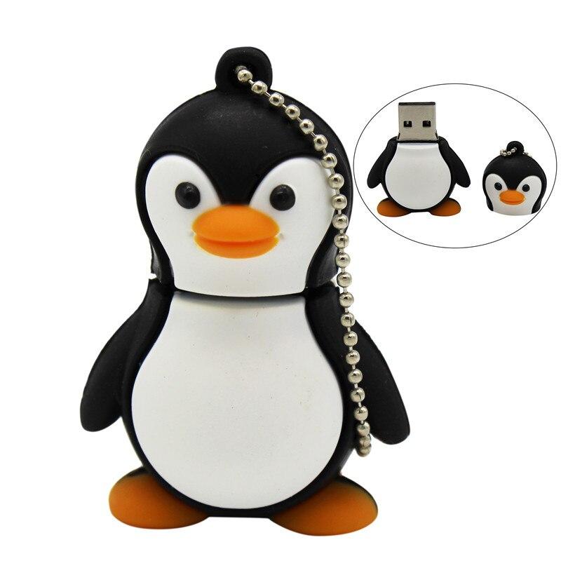 BiNFUL Cute Cartoon Penguin Model  64GB  Usb 2.0 Pendrive 4GB 8GB 16GB 32GB Pendrive USB Flash Drive Creative U Disk