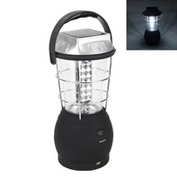 30W Portable Lanterns Super Bright Hand Crank Dynamo Solar 36 Led working Lantern Light Lamp For Hunting Camping