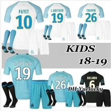 Olympique de Marseille kid child kit Soccer jersey 18 2019 OM Marseille  Maillot De Foot PAYET 0038b2438