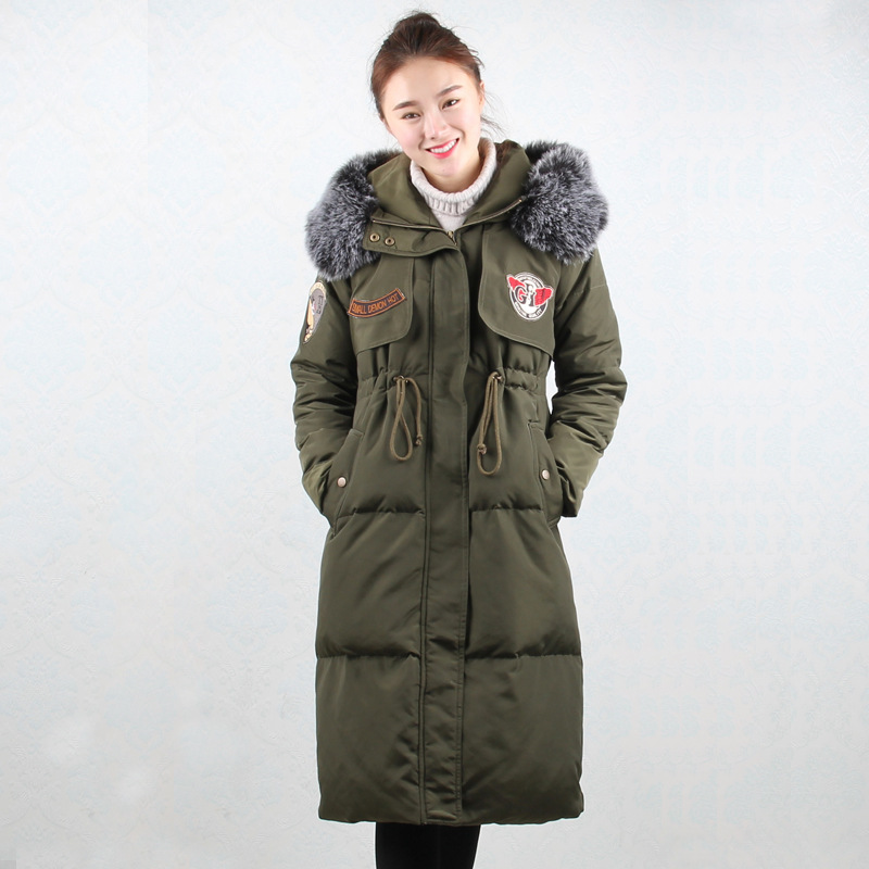 Compare Prices on Knee Length Down Coat- Online Shopping/Buy Low ...