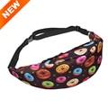 3D de impresión 22 patrón Unisex Bum Bag Hip Belt Dinero viajando Montañismo Cintura del paquete de fanny Del Bolso Del Teléfono Móvil para las mujeres